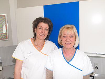 Tandlæge Susanne Demandt: Personale